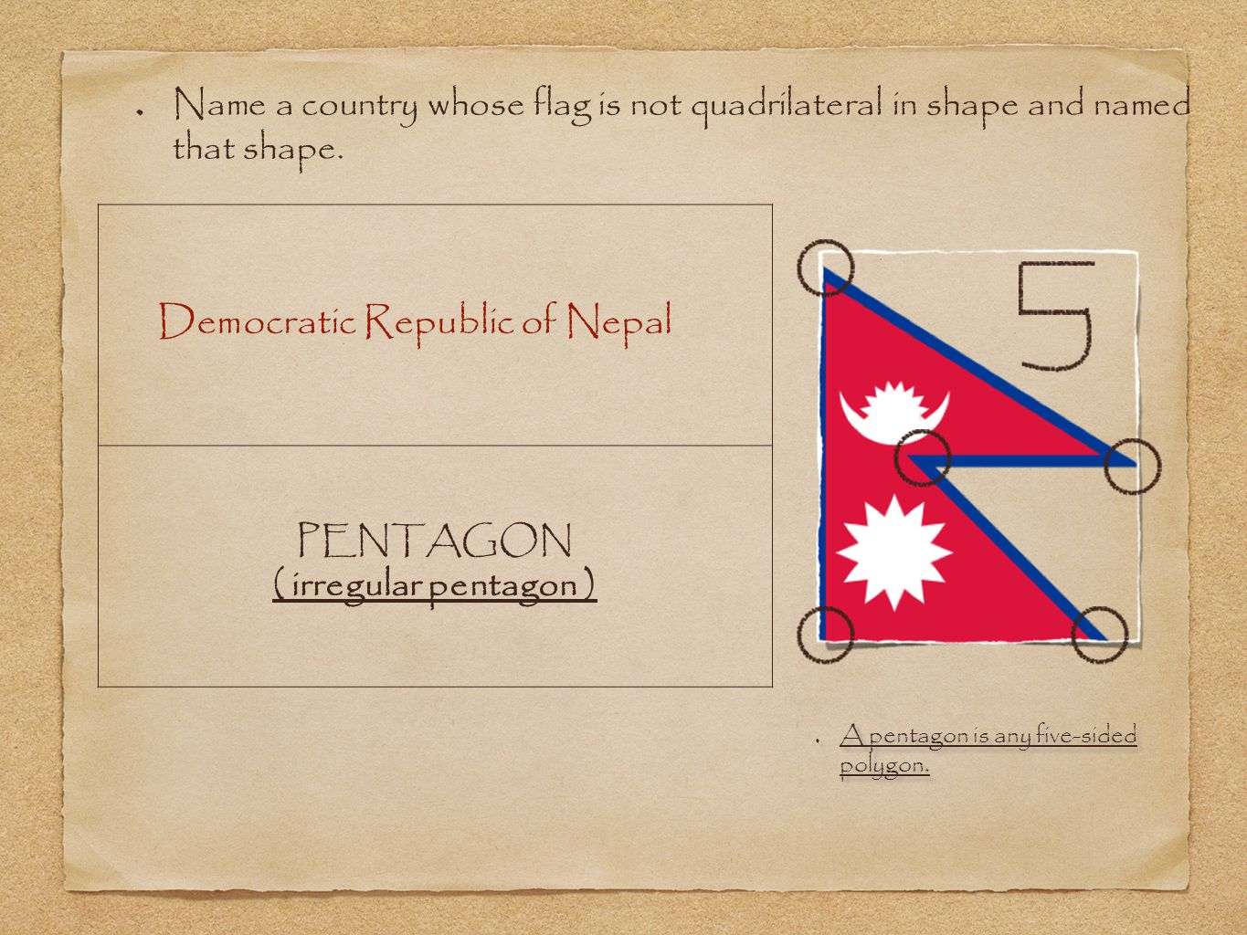 Democratic Republic of Nepal