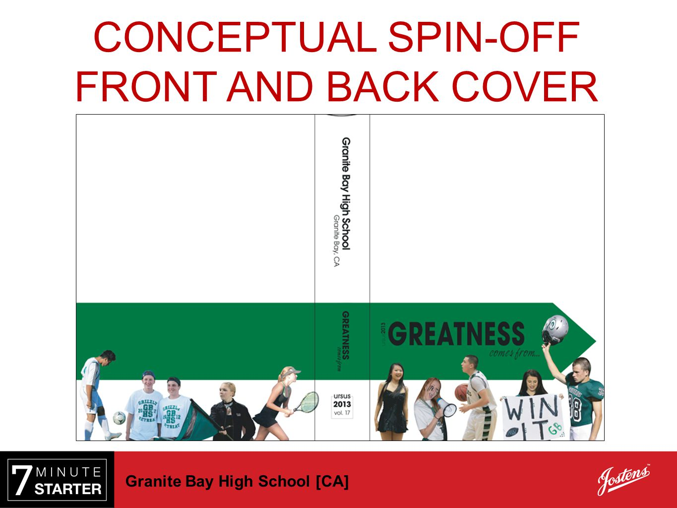 CONCEPTUAL SPIN-OFF STEP 2 - PRACTICE FRONT AND BACK COVER First
