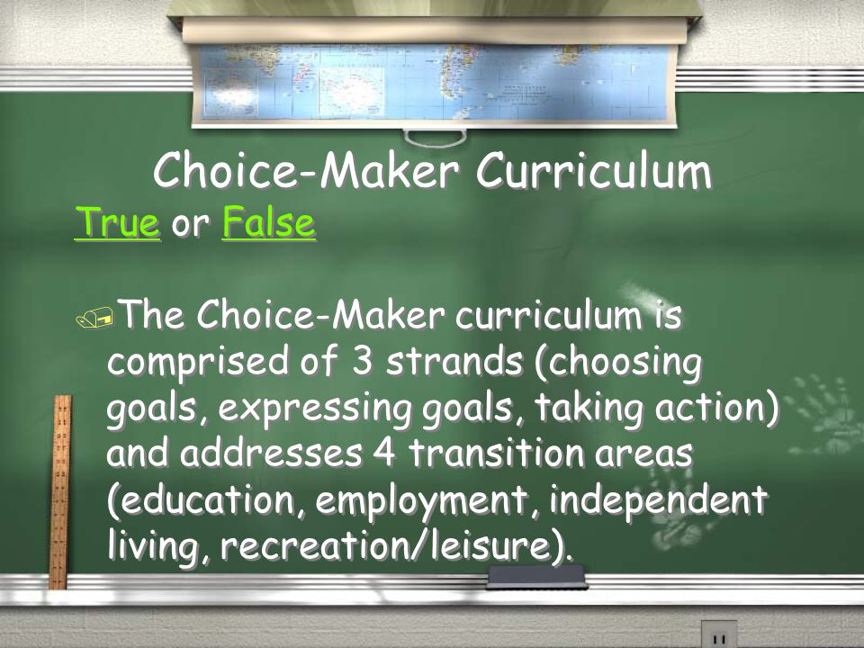 Choice-Maker Curriculum
