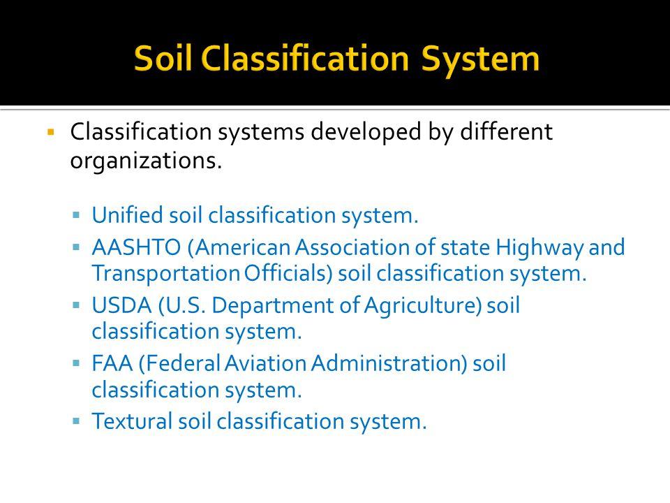 Soil mechanics i department of civil engineering lecture for Soil grading