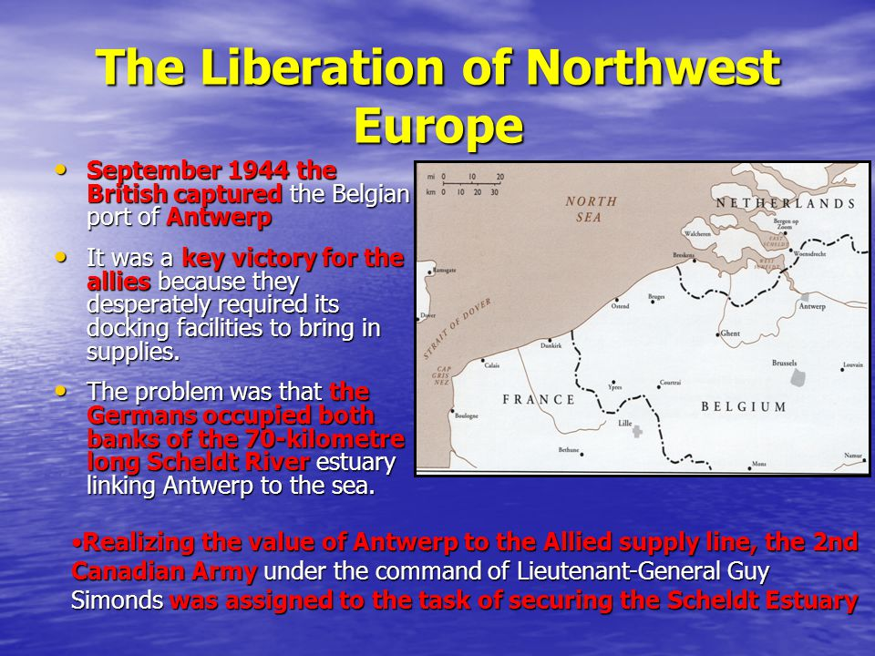 The Liberation of Northwest Europe