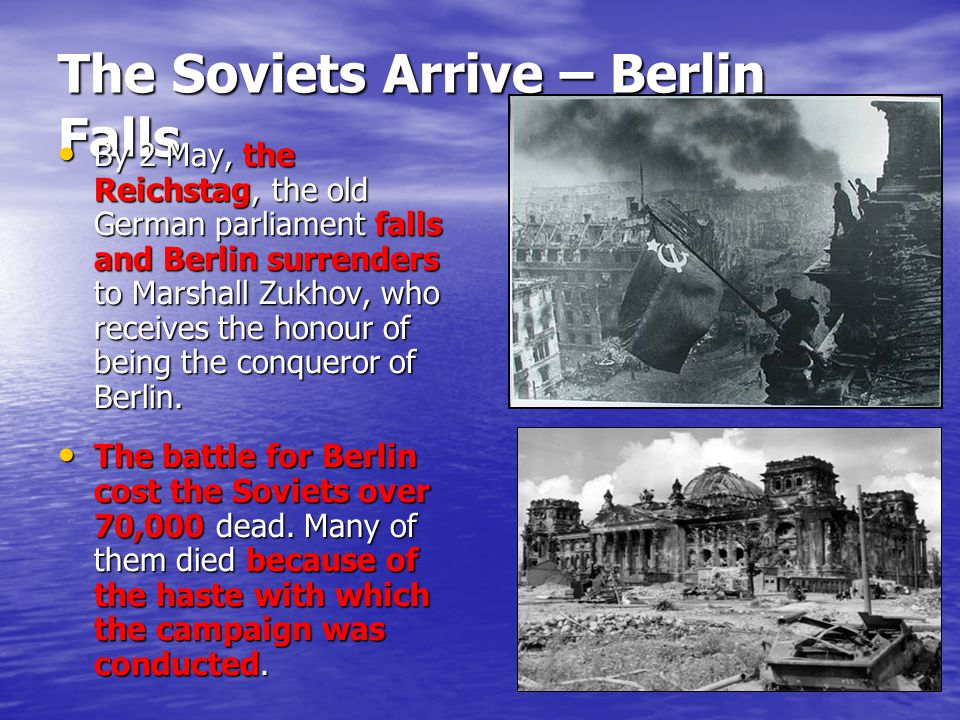 The Soviets Arrive – Berlin Falls