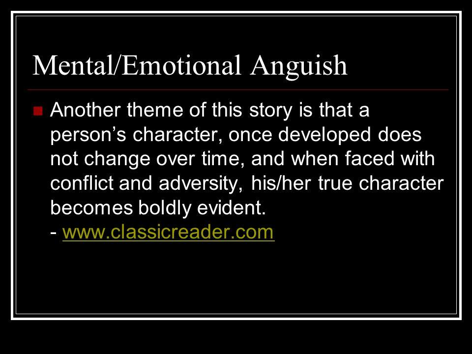 Mental/Emotional Anguish
