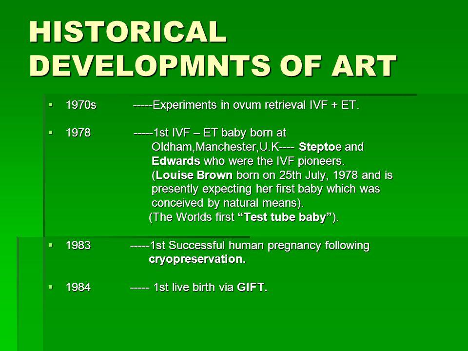 HISTORICAL DEVELOPMNTS OF ART