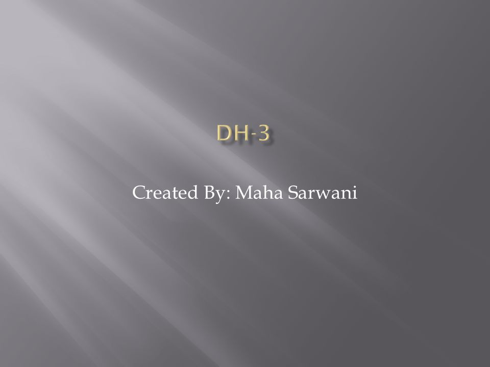 Created By: Maha Sarwani