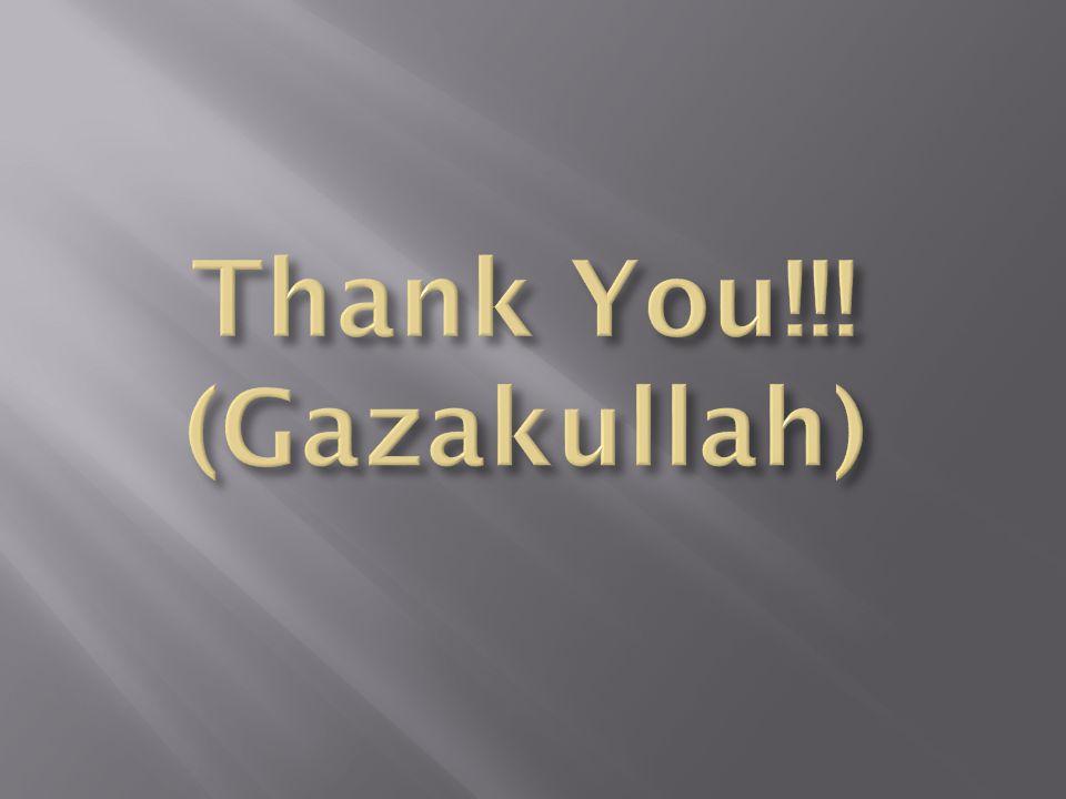 Thank You!!! (Gazakullah)