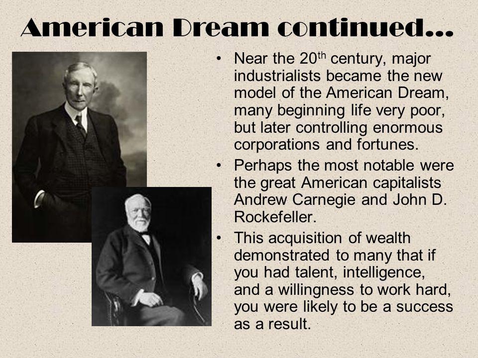 American Dream continued…