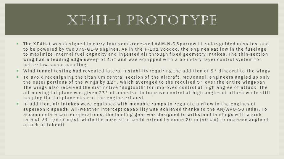 XF4H-1 prototype