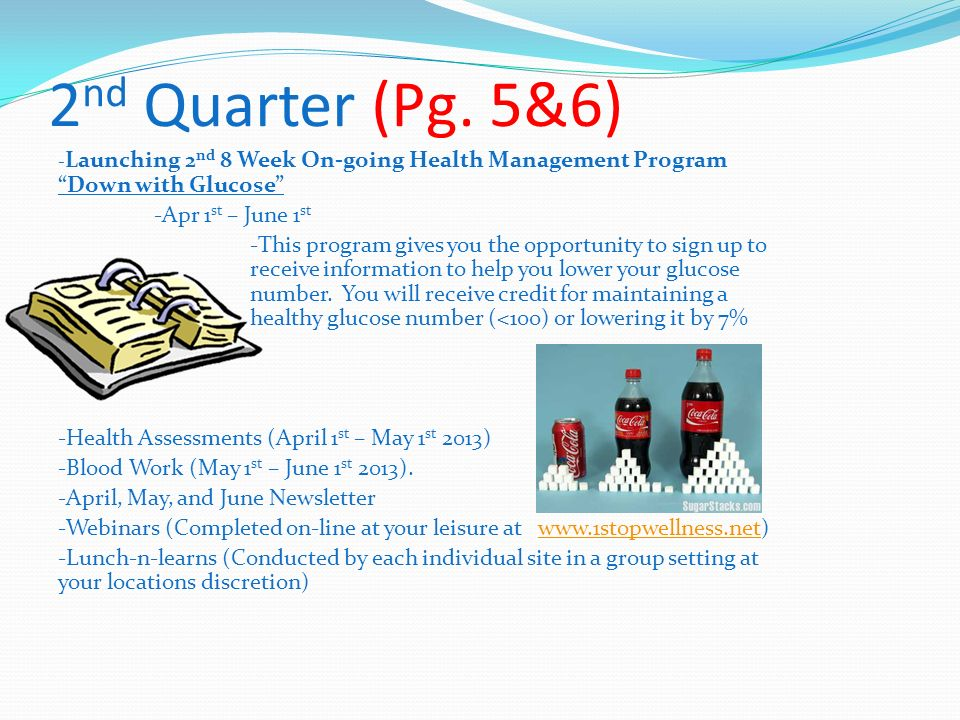 2nd Quarter (Pg. 5&6) -Apr 1st – June 1st