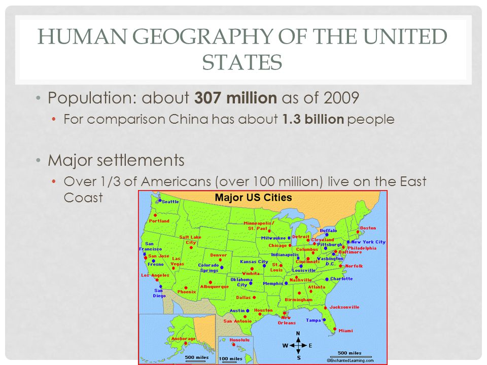 Human Geography of the United States