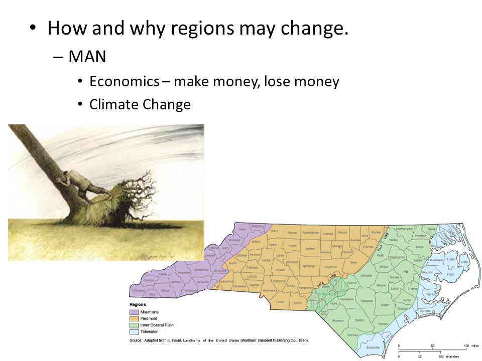 How and why regions may change.