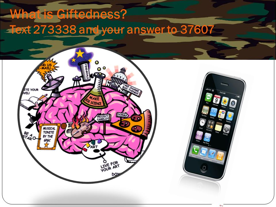 What is Giftedness Text and your answer to 37607