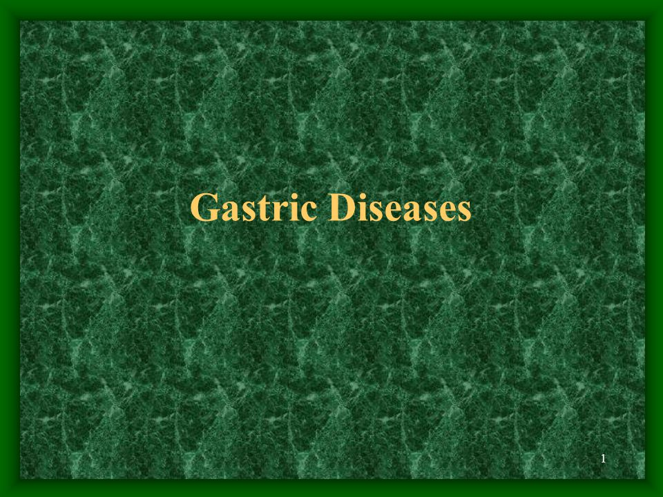 Gastric Diseases
