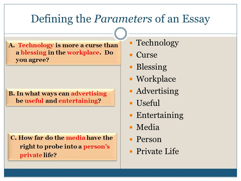 Technology – A Blessing or a Curse? Essay Sample
