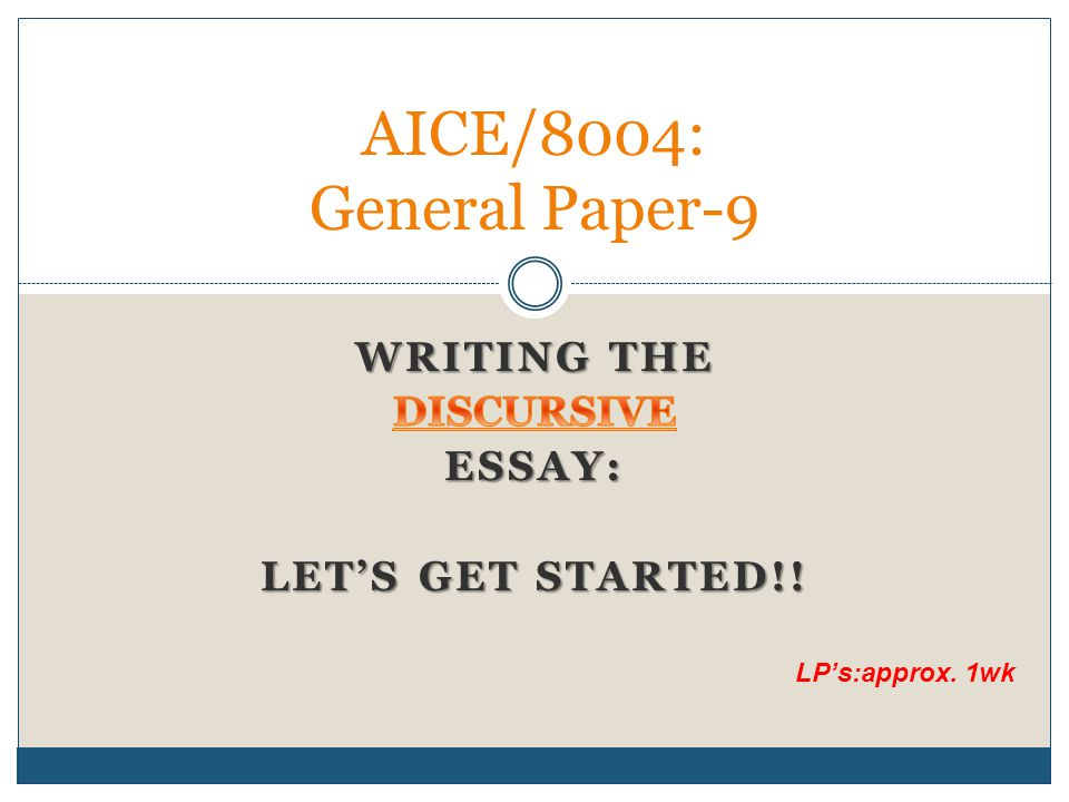 steps to write a discursive essay Steps to make a great student council plan 1  that is certainly the reason why it becomes quite hard to deal with discursive essay writing.