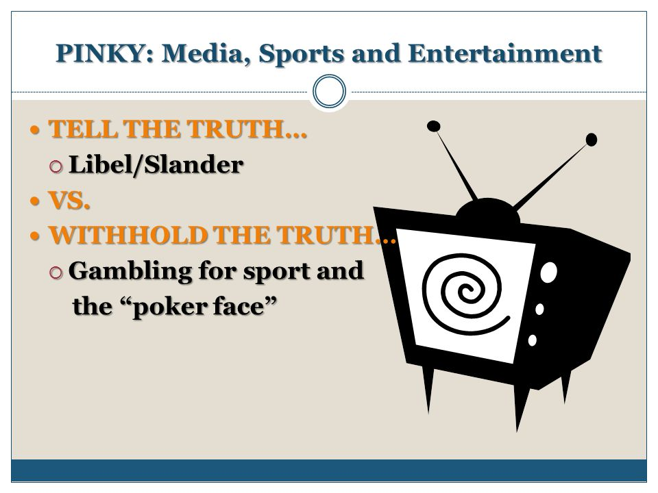 PINKY: Media, Sports and Entertainment