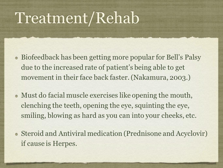 Treatment/Rehab