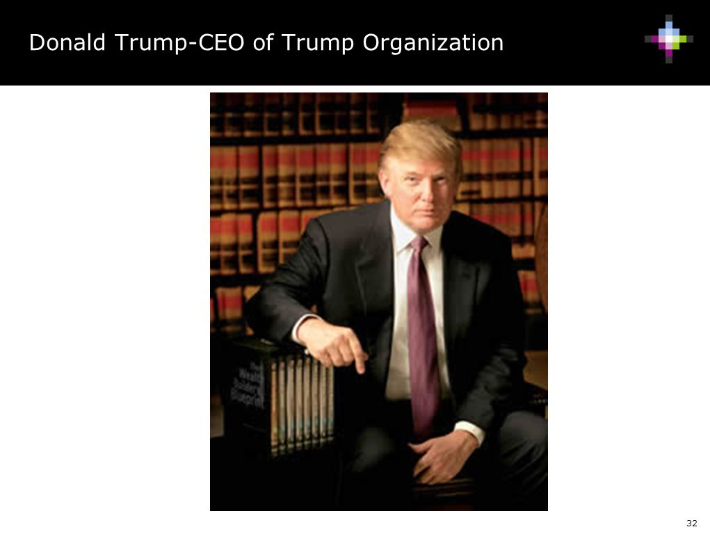 Donald Trump-CEO of Trump Organization