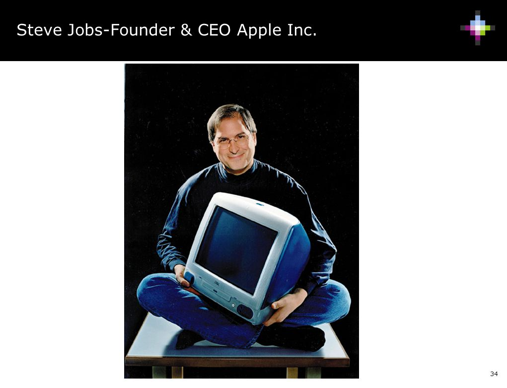 Steve Jobs-Founder & CEO Apple Inc.