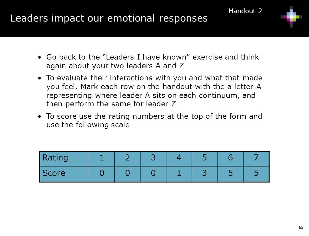 Leaders impact our emotional responses