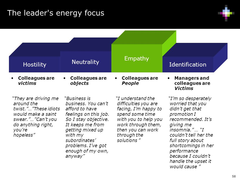 The leader s energy focus