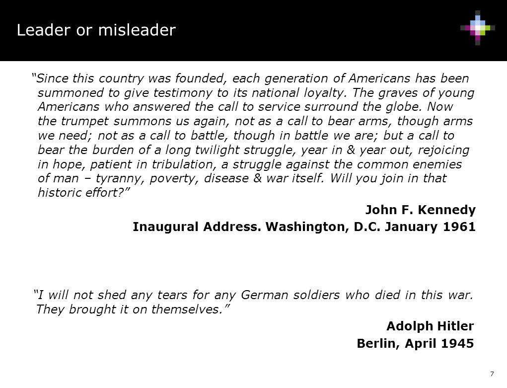 Leader or misleader