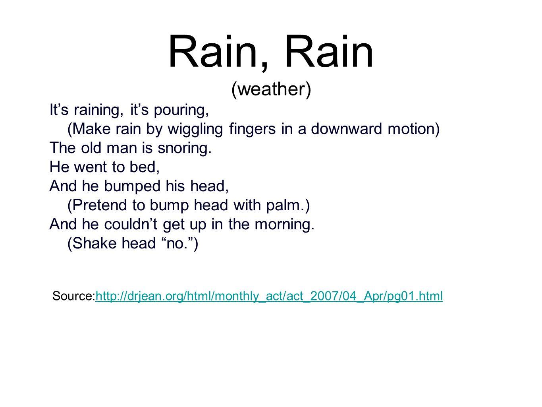 Rain, Rain (weather)
