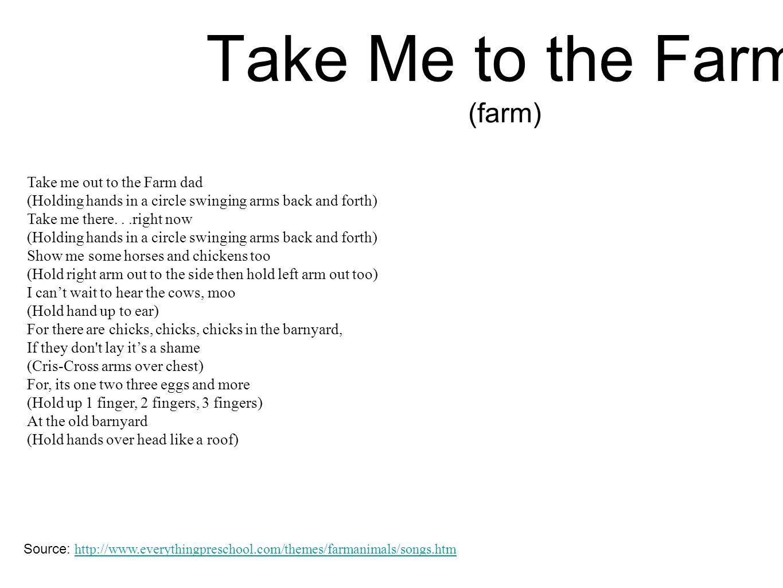 Take Me to the Farm (farm)