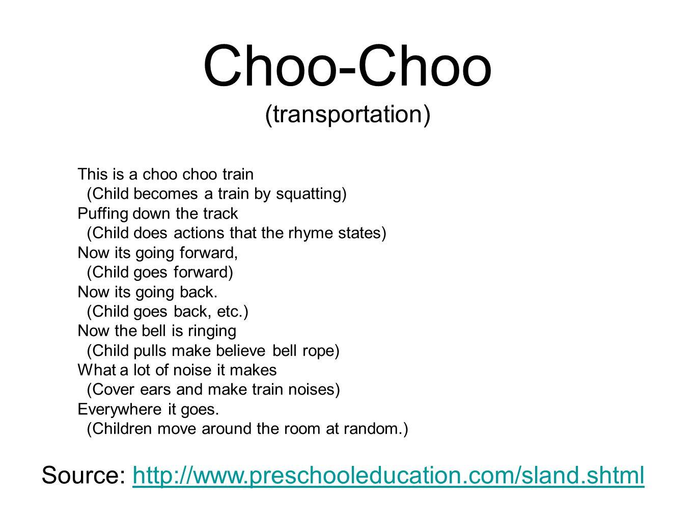 Choo-Choo (transportation)
