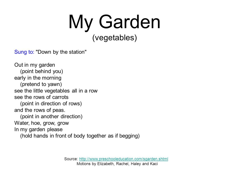 My Garden (vegetables)