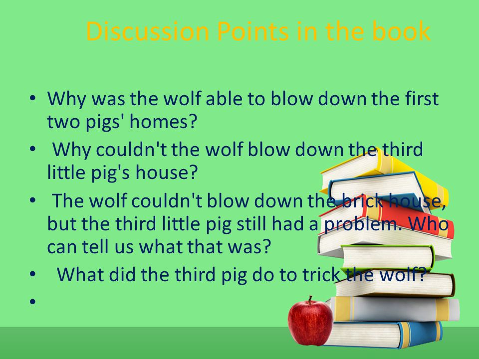 Discussion Points in the book