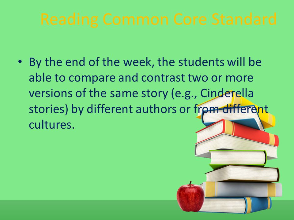 Reading Common Core Standard