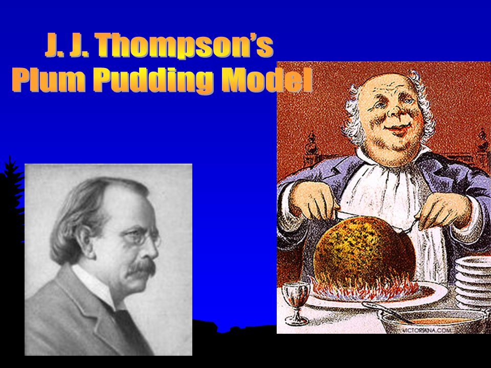 J. J. Thompson's Plum Pudding Model