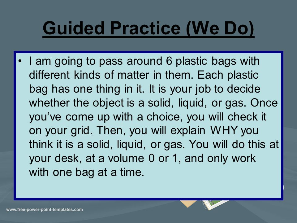 Guided Practice (We Do)