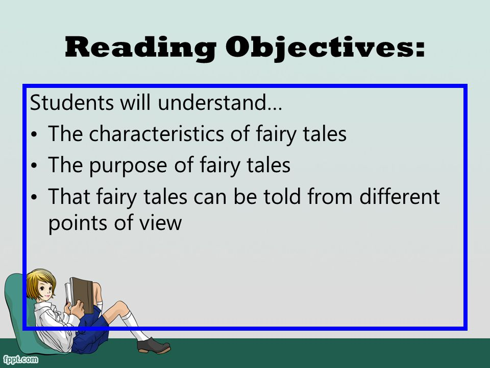 Reading Objectives: Students will understand…