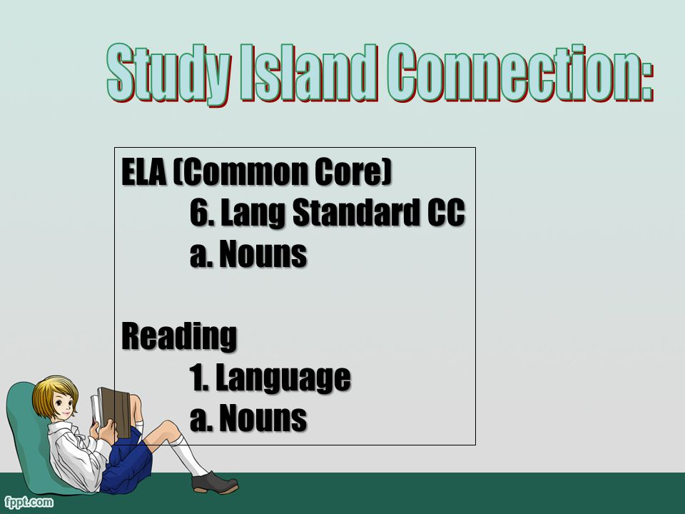 Study Island Connection: