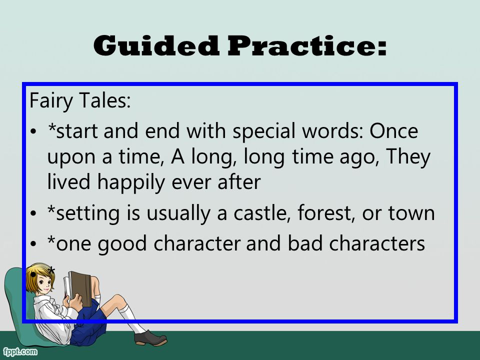 Guided Practice: Fairy Tales: