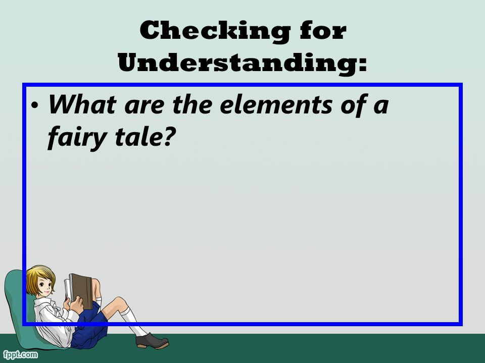 Checking for Understanding: