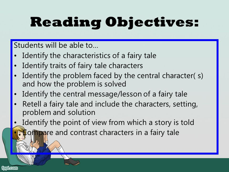 Reading Objectives: Students will be able to…