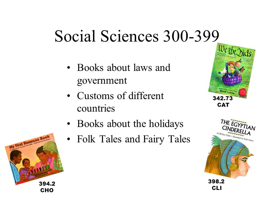 Social Sciences 300-399 Books about laws and government