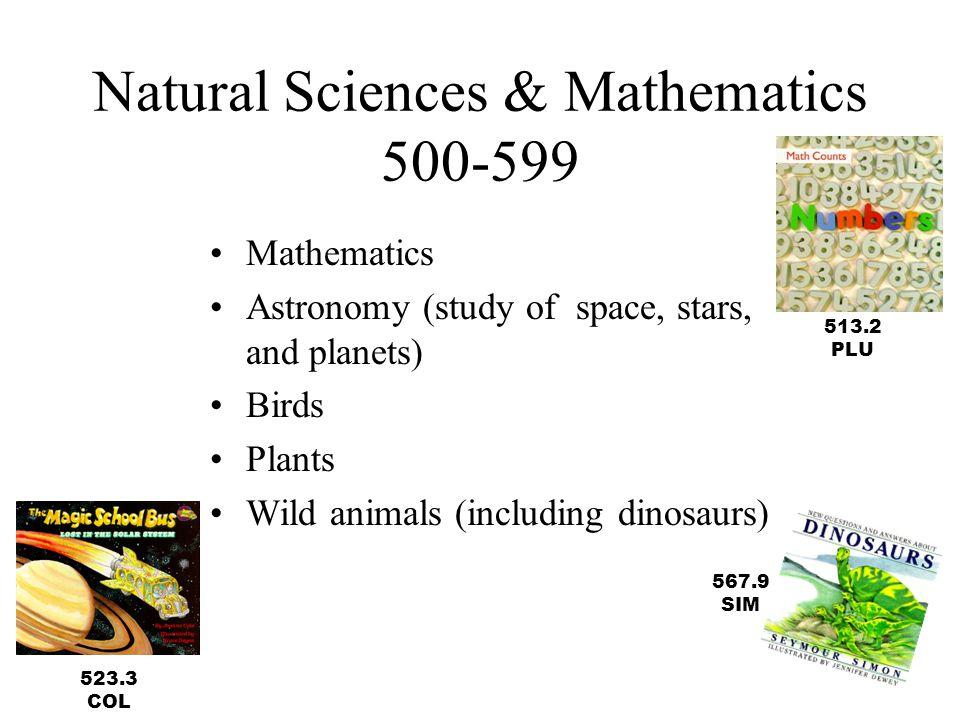 Natural Sciences & Mathematics 500-599