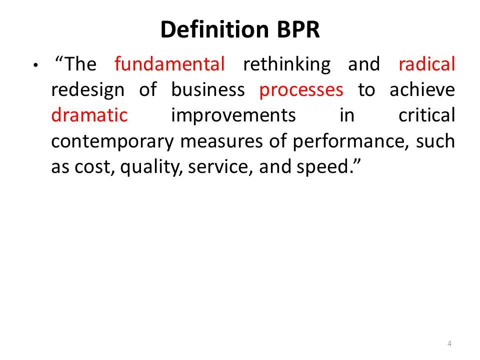 Definition BPR