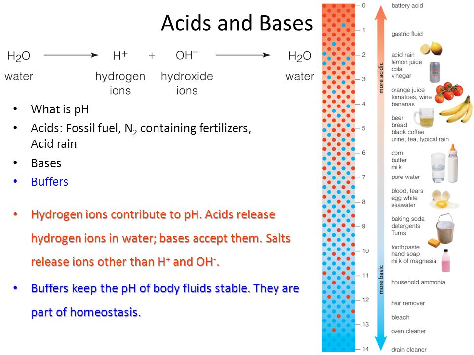 Acids and Bases What is pH