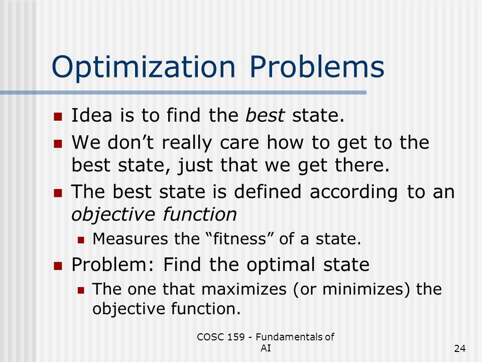 Optimization Problems