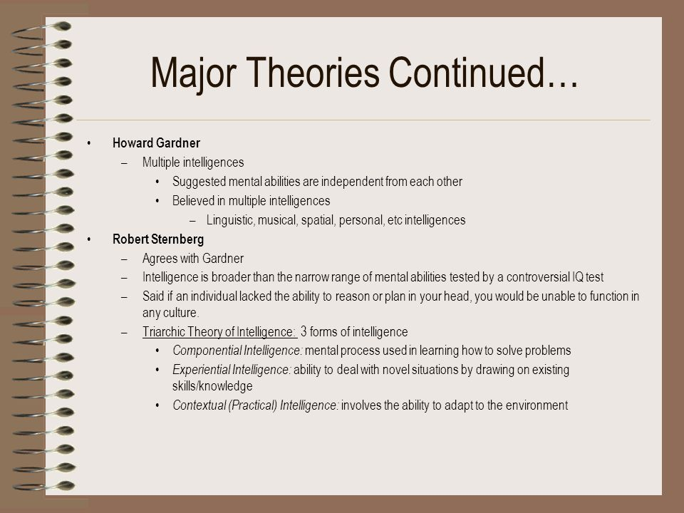 an analysis of classical theories of cognitive development Theories of cognitive development • why do we bother with theories of cognitive development • organize understanding of many individual cognitive changes • raise crucial questions about human nature • motivate new research.