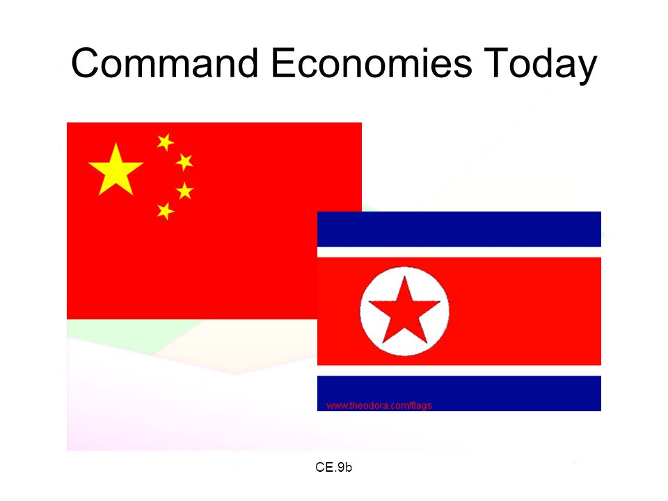 Command Economies Today