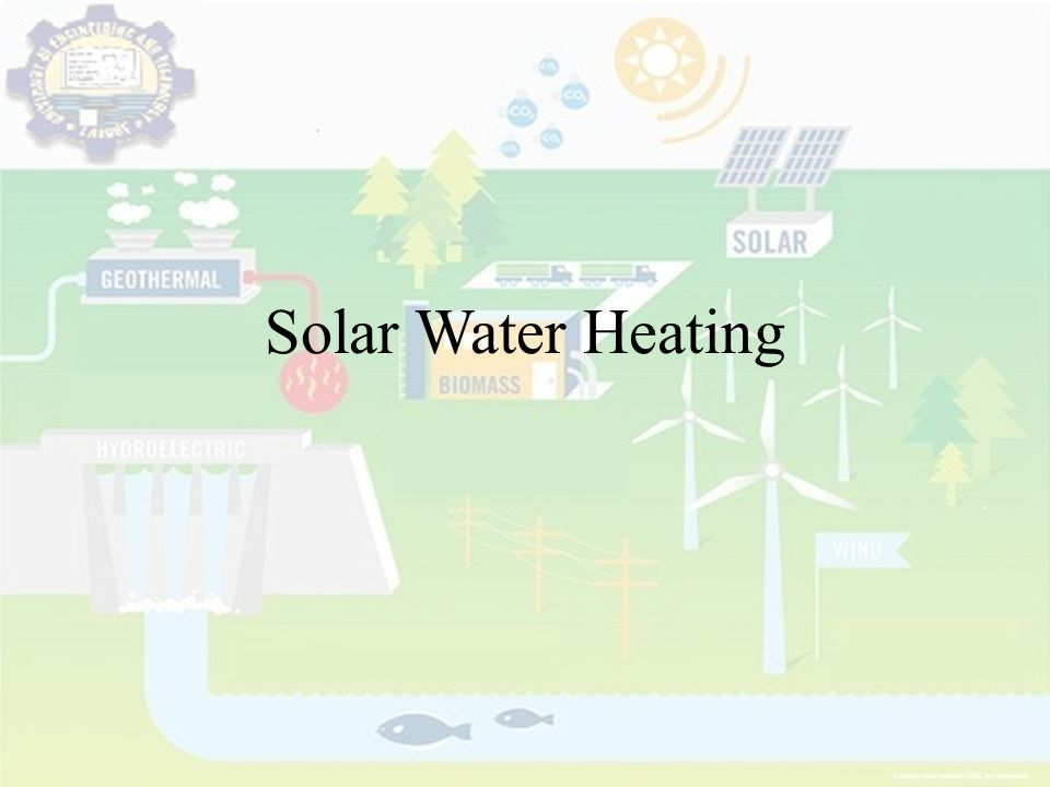 Solar Water Heating