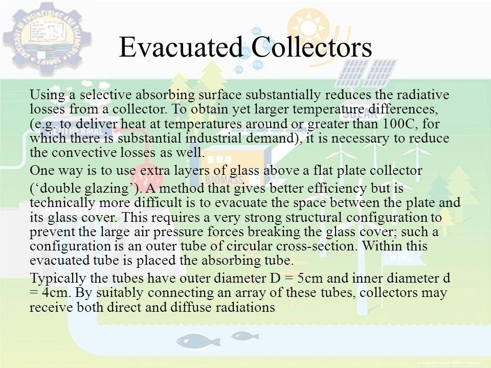 Evacuated Collectors
