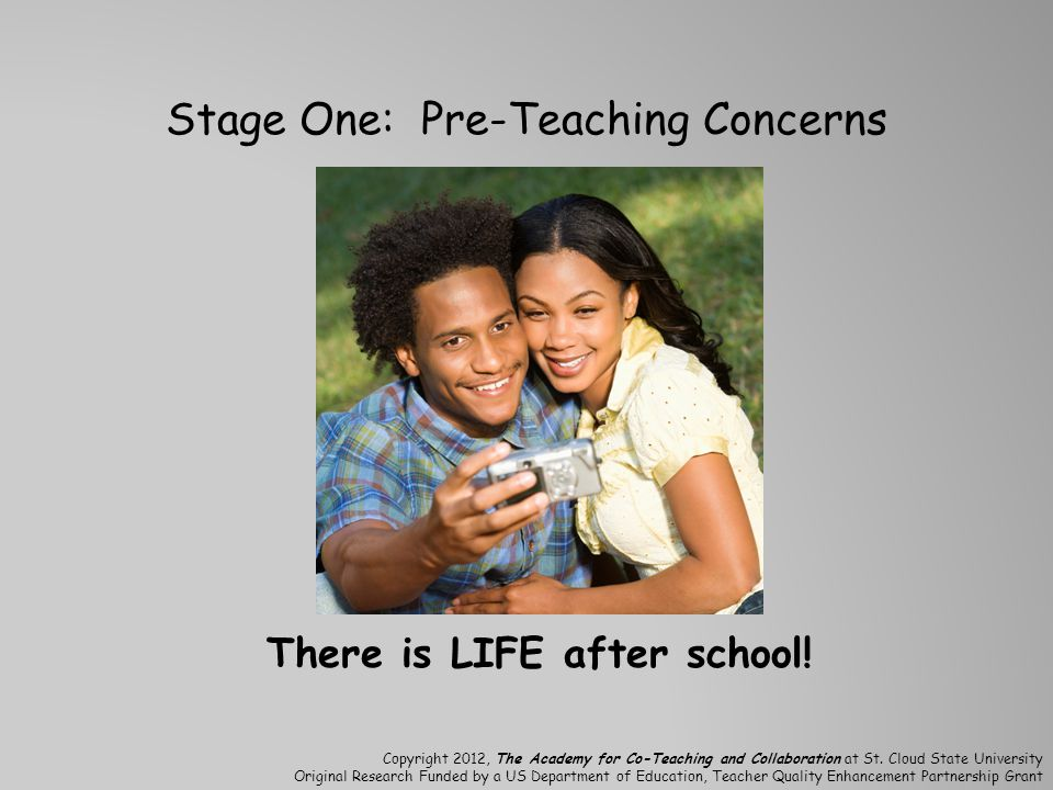 Stage One: Pre-Teaching Concerns