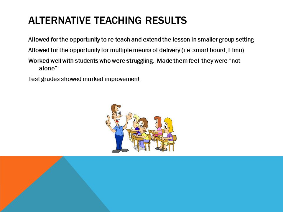 Alternative Teaching Results